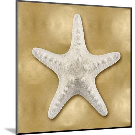 Ocean Gem on Gold VI-Caroline Kelly-Mounted Giclee Print