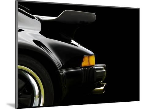 78 Porsche 930 Back Wing 2-Clive Branson-Mounted Giclee Print