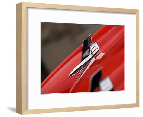 1957 Chevy Bel Air J-Clive Branson-Framed Art Print