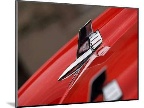 1957 Chevy Bel Air J-Clive Branson-Mounted Giclee Print