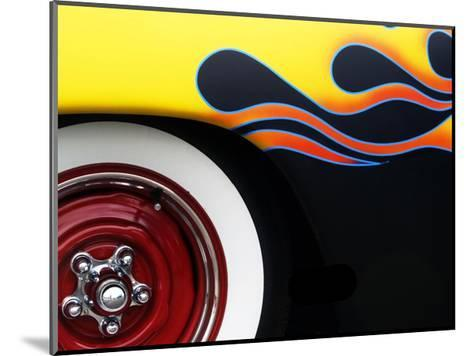 Hot Rod Flames-Clive Branson-Mounted Giclee Print