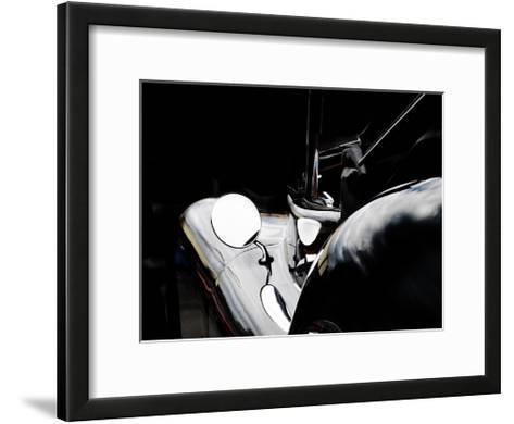 Jaguar XK120-Clive Branson-Framed Art Print