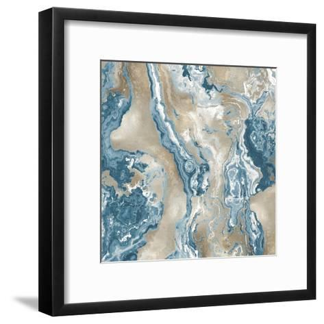 Onyx Teal-Danielle Carson-Framed Art Print