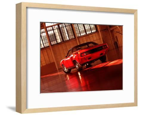 1970 Plymouth Hemi Cuda-Clive Branson-Framed Art Print