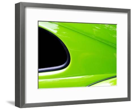 VW Side profile-Clive Branson-Framed Art Print