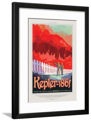 Kepler--Framed Art Print