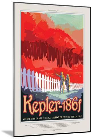Kepler--Mounted Giclee Print