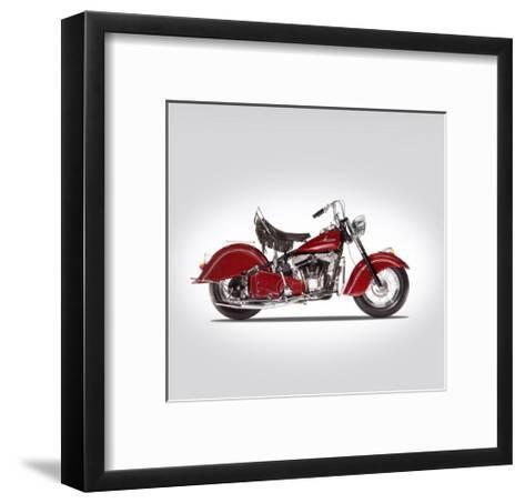 Indian Chief 1947-Mark Rogan-Framed Art Print