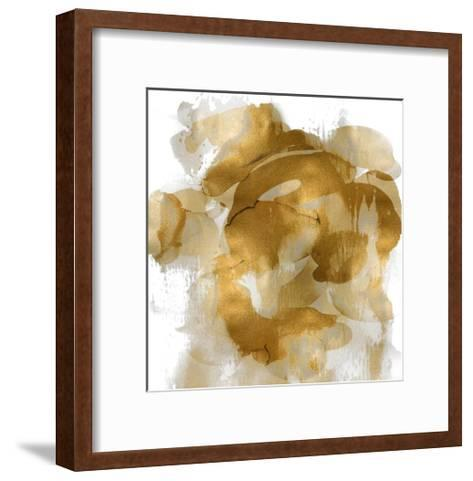 Gold Flow II-Kristina Jett-Framed Art Print