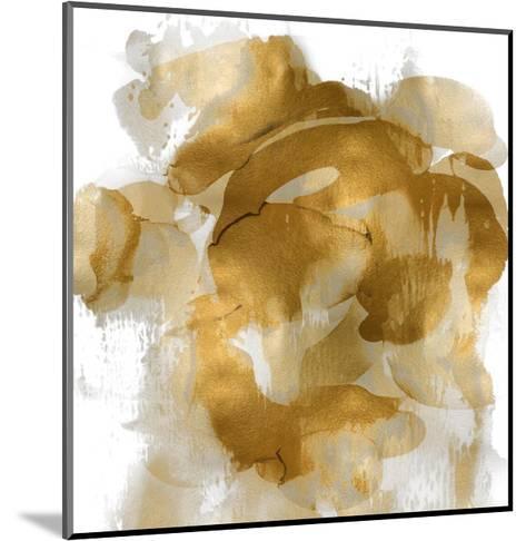 Gold Flow II-Kristina Jett-Mounted Giclee Print