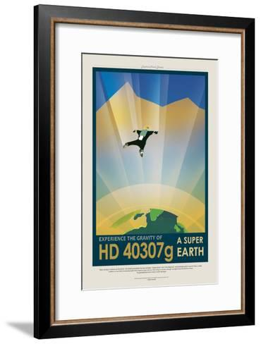 Super Earth--Framed Art Print