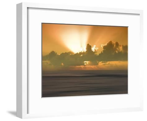 USA, Hawaii, Kauai, sunset-Savanah Plank-Framed Art Print