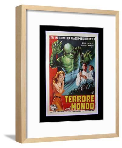 Terrore Sul Mondo--Framed Art Print
