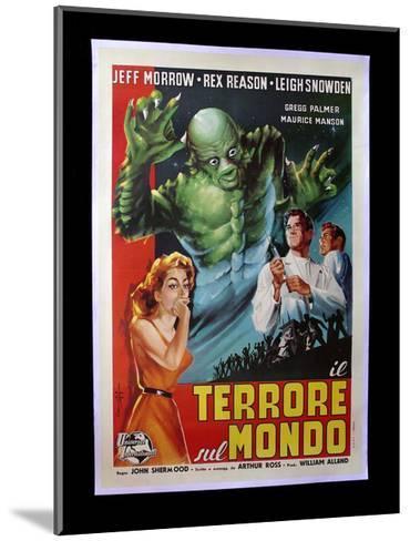 Terrore Sul Mondo--Mounted Giclee Print