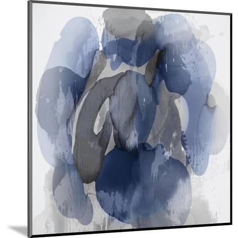 Indigo Flow I-Kristina Jett-Mounted Giclee Print