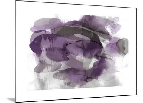 Amethyst Flow II-Kristina Jett-Mounted Giclee Print