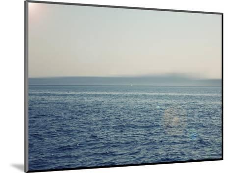 Ocean abstract-Savanah Plank-Mounted Giclee Print