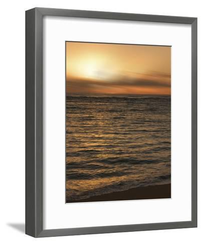 USA, Hawaii, Kauai, sunset-Savanah Plank-Framed Art Print