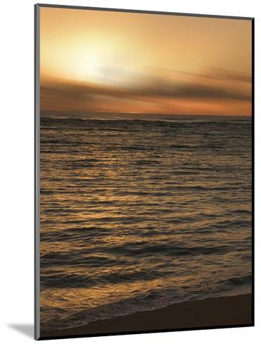 USA, Hawaii, Kauai, sunset-Savanah Plank-Mounted Giclee Print