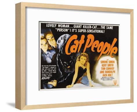 Cat People--Framed Art Print
