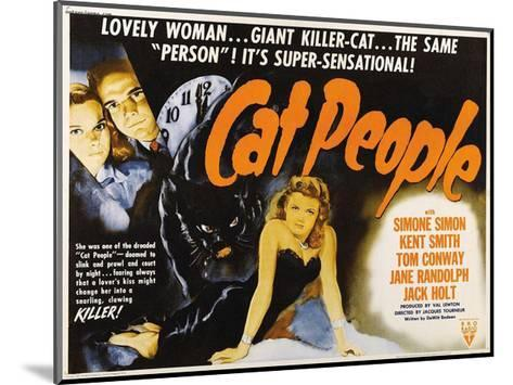 Cat People--Mounted Giclee Print