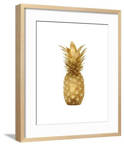 Gold Pineapple I-Kate Bennett-Framed Art Print