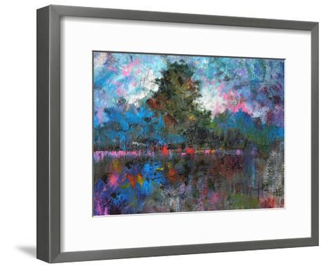 Blue Landscape-Joseph Marshal Foster-Framed Art Print