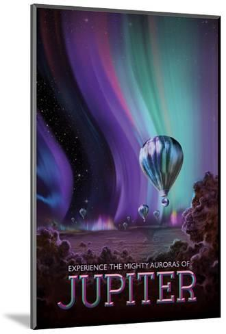 Experience The Mighty Auroras--Mounted Giclee Print