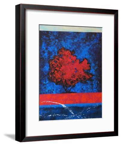 Red Tree-Joseph Marshal Foster-Framed Art Print