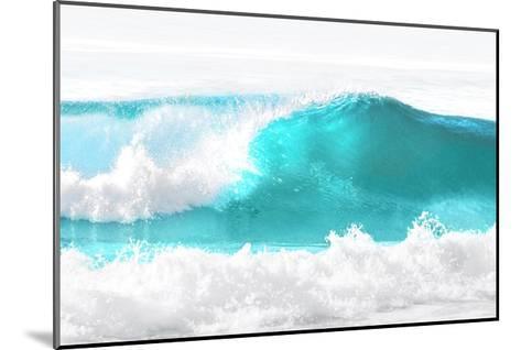 Aqua Wave I-Maggie Olsen-Mounted Giclee Print