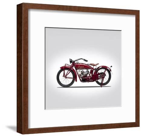 Indian Scout 1924-Mark Rogan-Framed Art Print