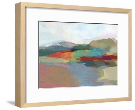 Strata II-Michael Tienhaara-Framed Art Print