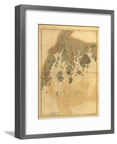 Maine Coast-Dan Sproul-Framed Art Print