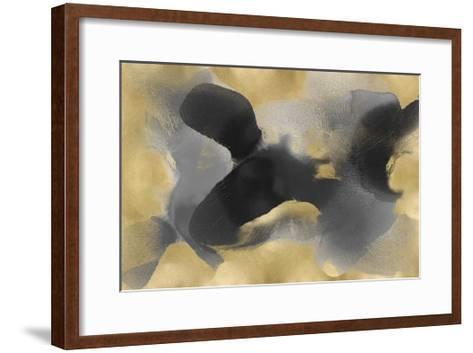 Free Form on Gold-Hannah Carlson-Framed Art Print