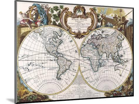 Mappe Monde-1744-Dan Sproul-Mounted Giclee Print