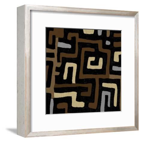 Mudcloth I-Ellie Roberts-Framed Art Print