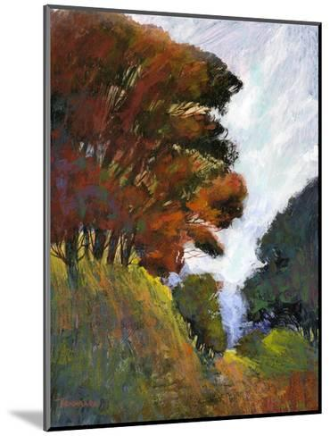 Falls Romance III-Michael Tienhaara-Mounted Giclee Print