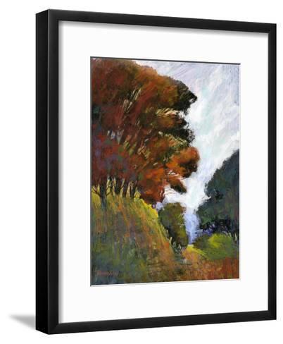 Falls Romance III-Michael Tienhaara-Framed Art Print