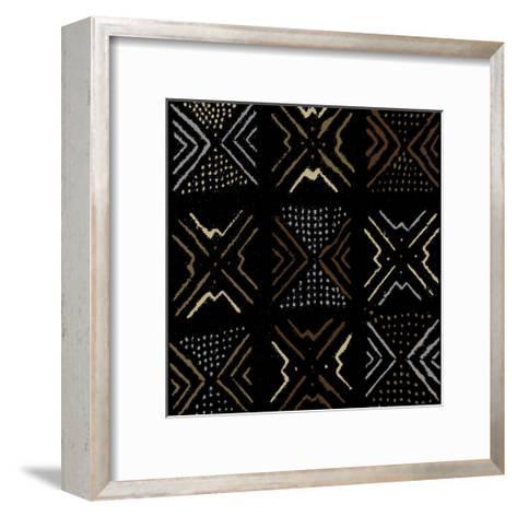 Mudcloth III-Ellie Roberts-Framed Art Print