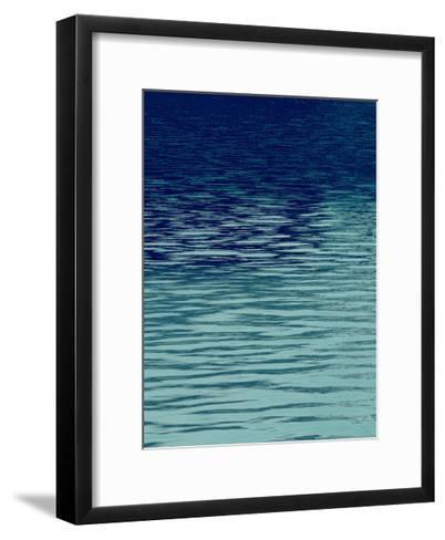 Ocean Current Blue I-Maggie Olsen-Framed Art Print