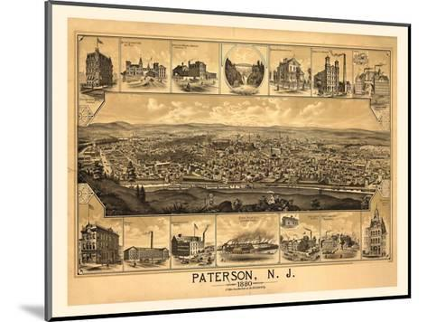 Paterson, NJ-1880-Dan Sproul-Mounted Giclee Print