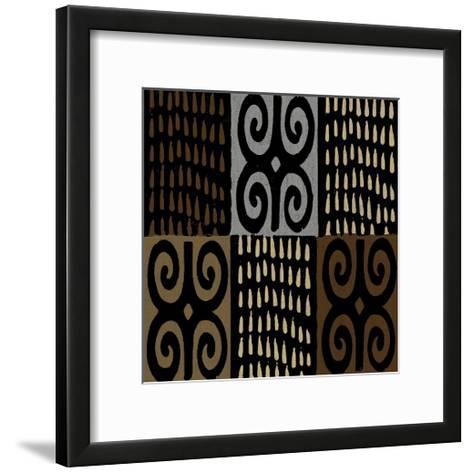 Mudcloth V-Ellie Roberts-Framed Art Print