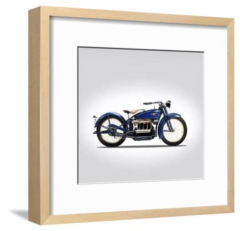 Ace Four 1925-Mark Rogan-Framed Art Print