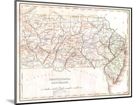 Pennsylvania-Dan Sproul-Mounted Giclee Print