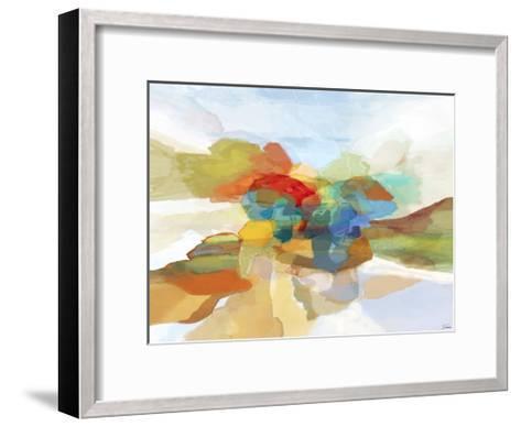 Fracture II-Michael Tienhaara-Framed Art Print