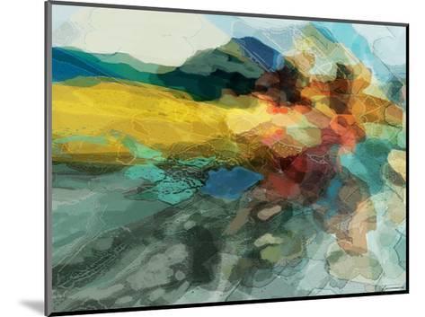 Shapes II-Michael Tienhaara-Mounted Giclee Print