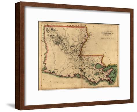 Louisiana-Dan Sproul-Framed Art Print
