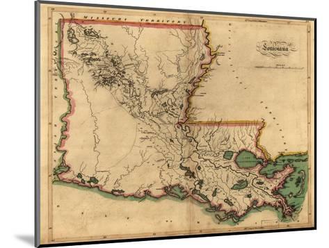 Louisiana-Dan Sproul-Mounted Giclee Print