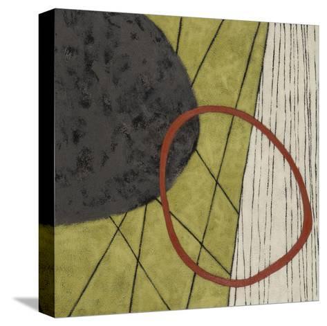 Subtle Shyness-Janette Dye-Stretched Canvas Print