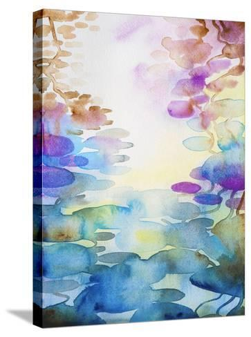Spring Water-Helen Wells-Stretched Canvas Print